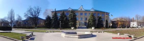 Баштанська райдержадміністрація - будівля
