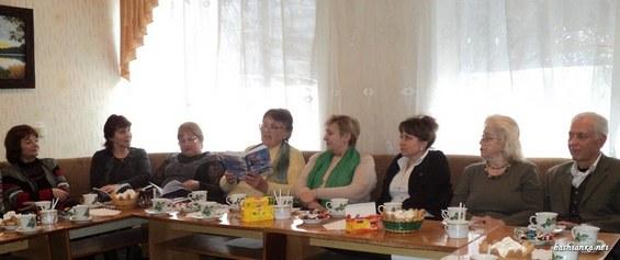 Засідання літературно-мистецького клубу «Роксолана»