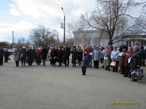 мітинг на підтримку Надії Савченко