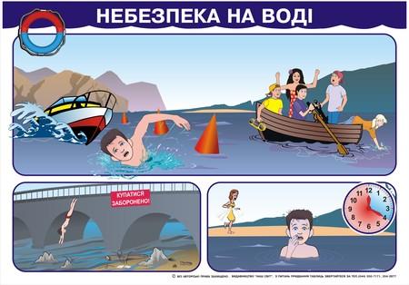Відпочиваючи на воді, завжди треба пам'ятати про безпеку