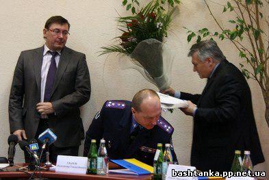 Луценко лично представил нового начальника УМВД Украины в Николаевской области